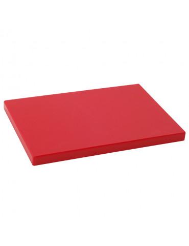 TABLA DE CORTE ROJO 400x300x20