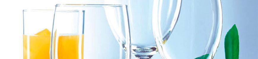 Menaje de cristal para hostelería