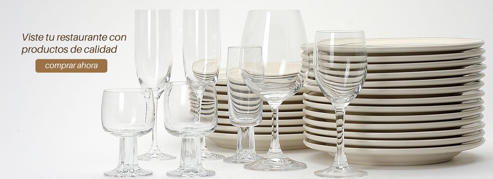 Cristalería para restaurantes